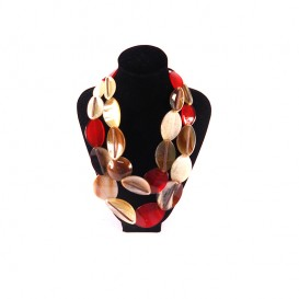 collar-doble-oval-marron-rojo